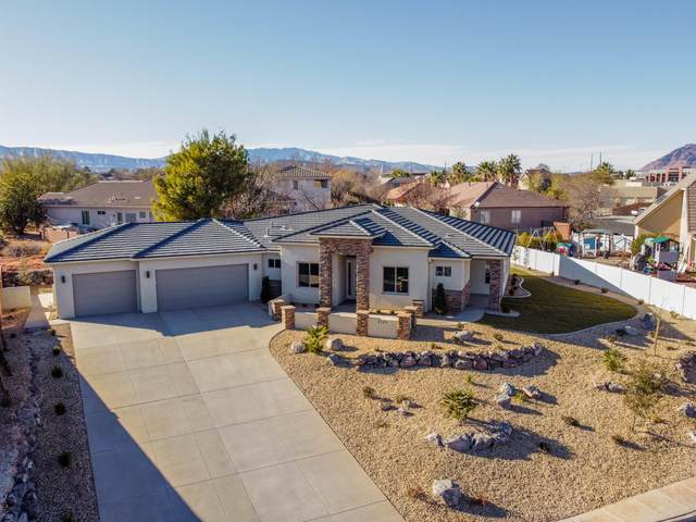 2145 Red Mountain Dr, Santa Clara, UT 84765 (MLS #21-219273) :: The Real Estate Collective