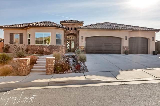 831 W Tortoise Cir, Washington, UT 84780 (MLS #21-219504) :: The Real Estate Collective