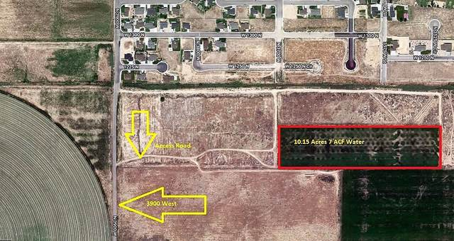 3900 W 10.15 Acres, Cedar City, UT 84720 (MLS #21-219527) :: Red Stone Realty Team