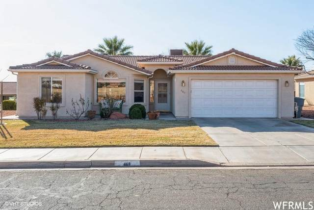 468 E 400 S, Ivins, UT 84738 (MLS #21-219621) :: The Real Estate Collective