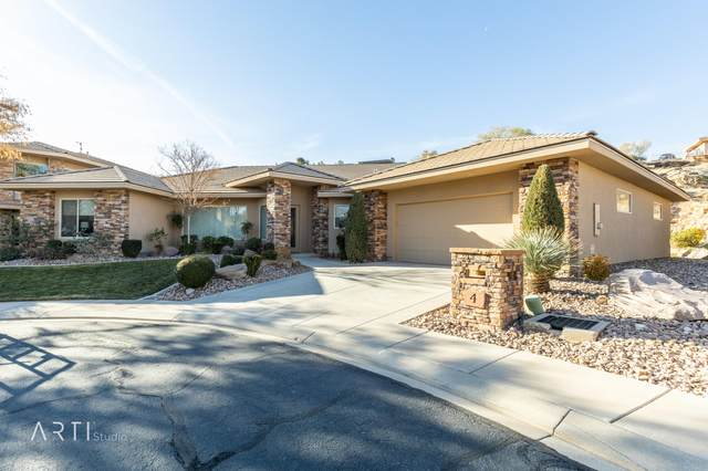 2240 E Cobalt Dr, St George, UT 84790 (MLS #21-219757) :: The Real Estate Collective