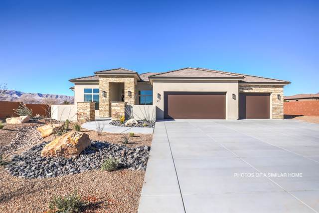 Lot 31 Saguaro Way, Ivins, UT 84738 (MLS #21-220219) :: Diamond Group