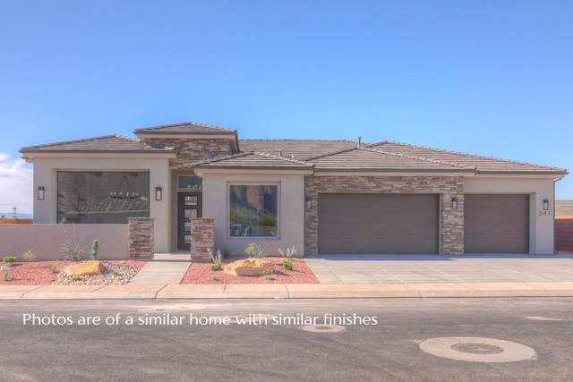 511 W Saguaro Way Lot 38, Ivins, UT 84738 (MLS #21-220329) :: Diamond Group