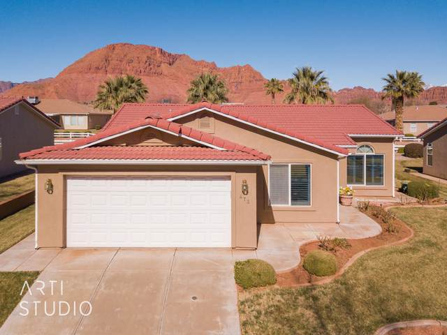 473 E Majestic Dr, Ivins, UT 84738 (MLS #21-220427) :: The Real Estate Collective