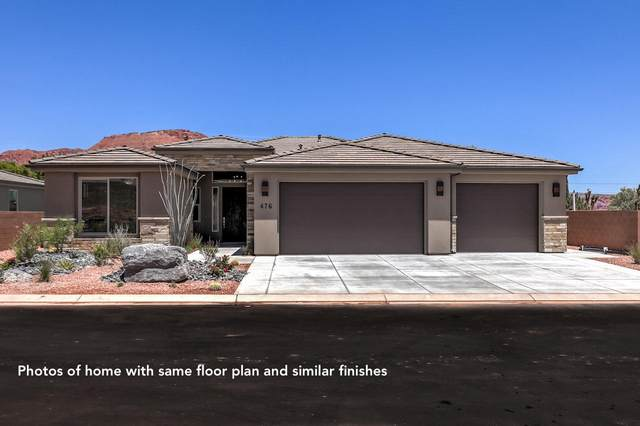 482 W Fitness Way Lot 49, Ivins, UT 84738 (MLS #21-220510) :: Diamond Group