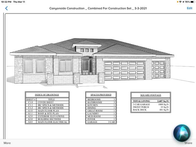 93 Tampico Dr, St George, UT 84770 (MLS #21-220916) :: The Real Estate Collective