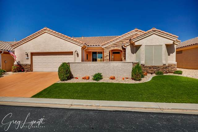 1734 W Sunstar Dr, St George, UT 84790 (MLS #21-221615) :: Diamond Group