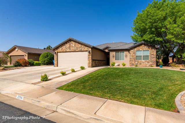 2296 S 1700 E, St George, UT 84790 (MLS #21-221800) :: Team SURGE @ KW St. George