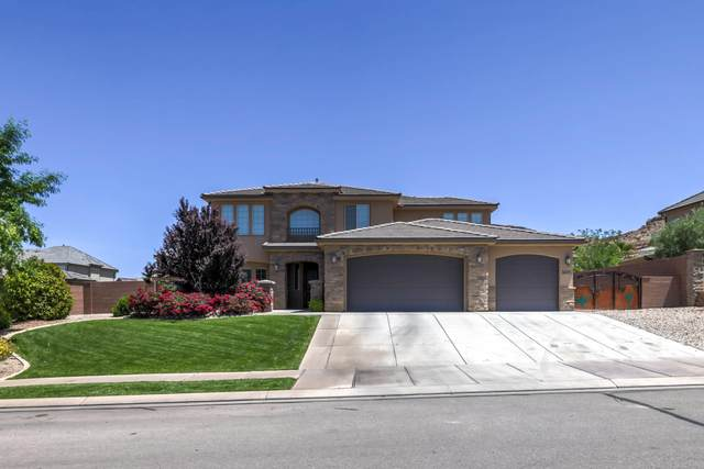 3695 Banded Hills Dr, St George, UT 84790 (MLS #21-222551) :: John Hook Team