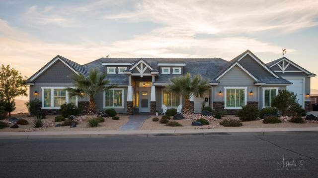 110 S East Ridge Dr, St George, UT 84790 (MLS #21-222574) :: Diamond Group