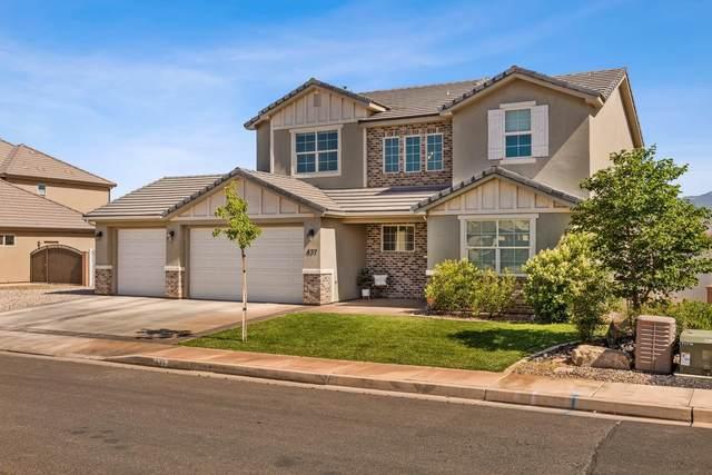 437 E Steeplechase Rd, Washington, UT 84780 (MLS #21-223375) :: The Real Estate Collective