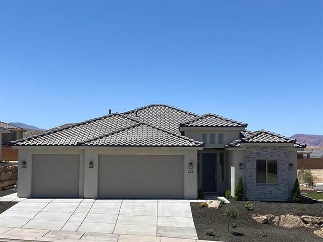 528 S Bracciano Dr E, St George, UT 84770 (MLS #21-223439) :: The Real Estate Collective