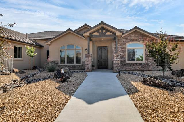 1542 N Canyon Trails Dr, Dammeron Valley, UT 84783 (MLS #21-224507) :: Red Stone Realty Team