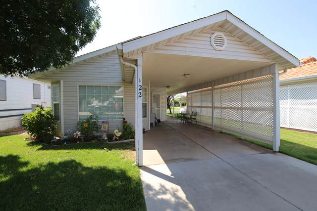 2990 E Riverside #122, St George, UT 84790 (MLS #21-224520) :: The Real Estate Collective