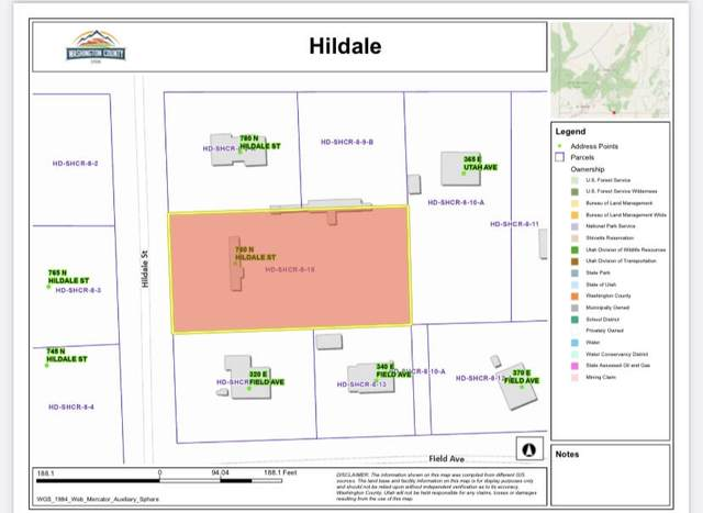 760 N Hildale, Hildale, UT 84784 (MLS #21-224617) :: The Real Estate Collective