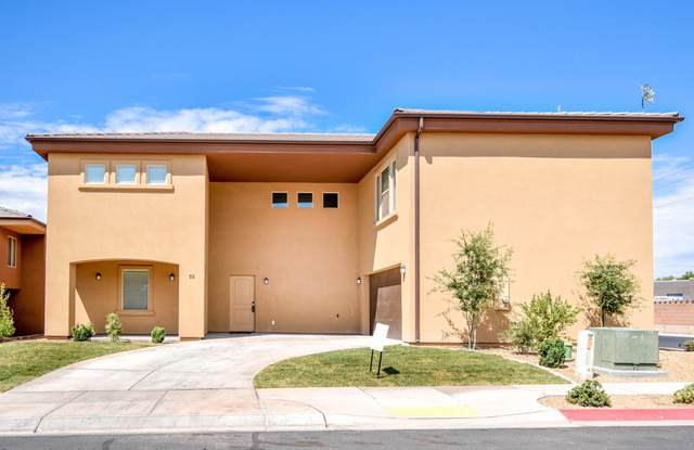 2801 E 450 #53, St George, UT 84790 (MLS #21-226428) :: Red Stone Realty Team