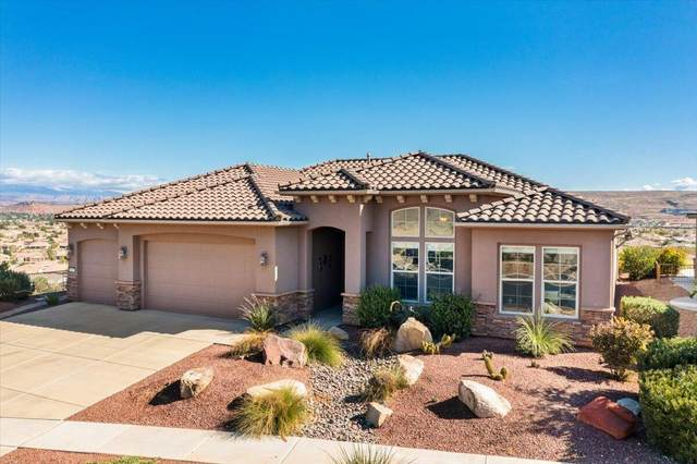 5019 S Carmel Bluffs Cir, St George, UT 84790 (MLS #21-226983) :: The Real Estate Collective