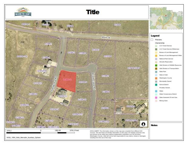 Lot 12 Spring Creek Pines, Pine Valley, UT 84781 (MLS #17-187612) :: The Real Estate Collective