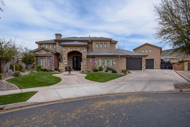 1602 W Chateau Cir S, St George, UT 84770 (MLS #18-193068) :: Red Stone Realty Team