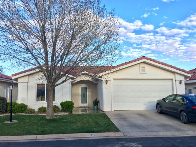 2050 W Canyon View Dr #241, St George, UT 84770 (#19-202220) :: Red Sign Team