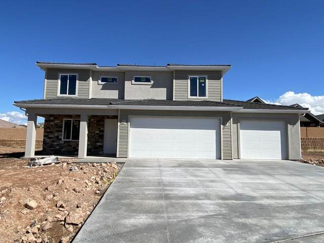 3733 W Sandstone Bench Dr, Hurricane, UT 84737 (MLS #20-211621) :: Remax First Realty