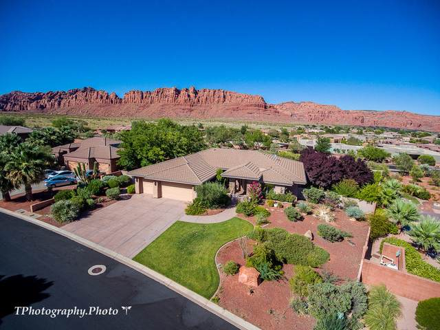 272 Painted Hills Dr, Ivins, UT 84738 (MLS #20-215024) :: Diamond Group