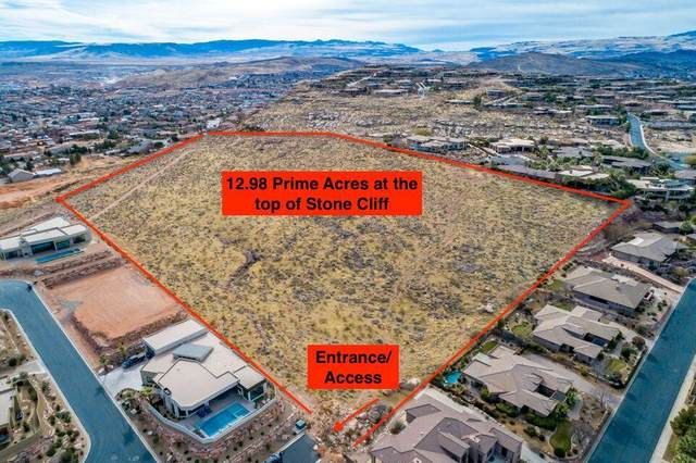 13+/- Acres Above Stone Cliff, St George, UT 84770 (MLS #21-220210) :: eXp Realty