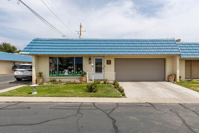 351 S 400 E #13, St George, UT 84770 (MLS #21-225211) :: Sycamore Lane Realty Co.