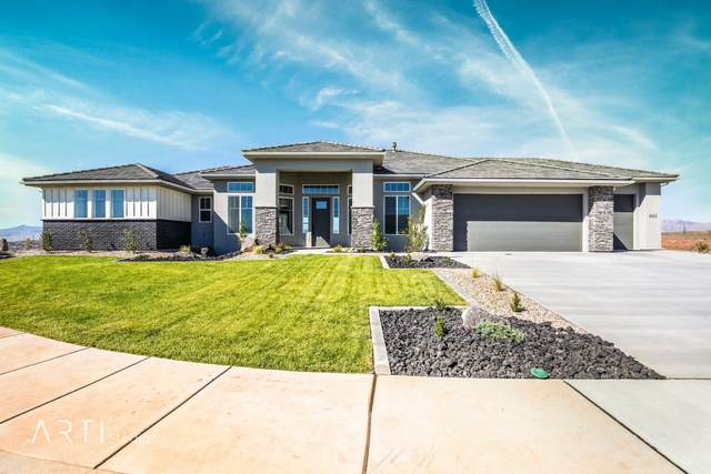885 N Grand Heights Drive, St George, UT 84770 (MLS #20-211130) :: The Real Estate Collective