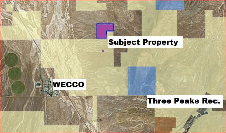165 Acres Near Wecco/Three Peaks - Photo 1
