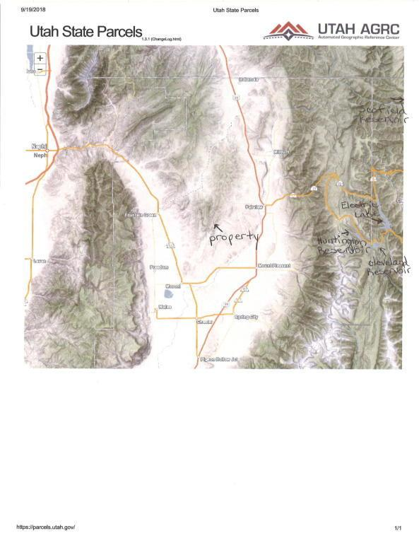 80 Ac Sanpete Co. E1/2 Ne1/4 Sec. 13, Moroni, UT 84646 (MLS #18-197646) :: Saint George Houses