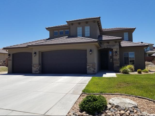 2856 E Crimson Ridge Dr, St George, UT 84790 (#19-205314) :: Red Sign Team