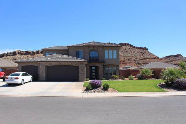 3138 Livia Dr, St George, UT 84790 (MLS #21-222047) :: John Hook Team