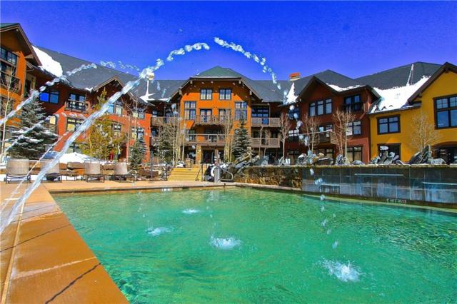 172 Beeler Place 217 A, Copper Mountain, CO 80443 (MLS #S1005958) :: The Smits Team Real Estate