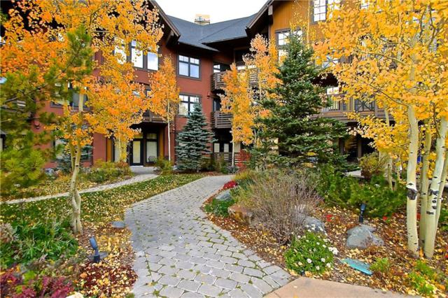 172 Beeler Place 110 B, Copper Mountain, CO 80443 (MLS #S1005960) :: The Smits Team Real Estate