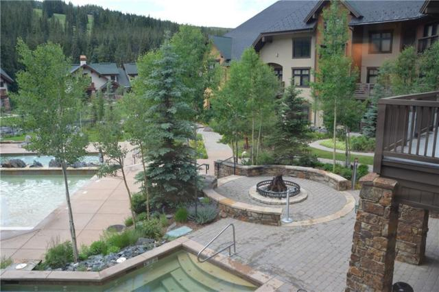 172 Beeler Place 207D, Copper Mountain, CO 80443 (MLS #S1005988) :: The Smits Team Real Estate