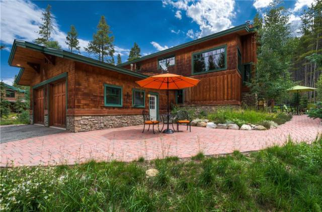 166 Creek Side Drive, Breckenridge, CO 80424 (MLS #S1006417) :: The Smits Team Real Estate