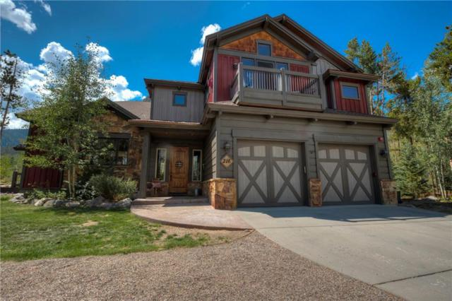 216 Chiming Bells Court, Frisco, CO 80443 (MLS #S1006490) :: The Smits Team Real Estate