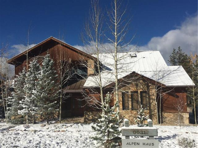 31 Saw Whiskers Circle, Keystone, CO 80435 (MLS #S1006905) :: The Smits Team Real Estate
