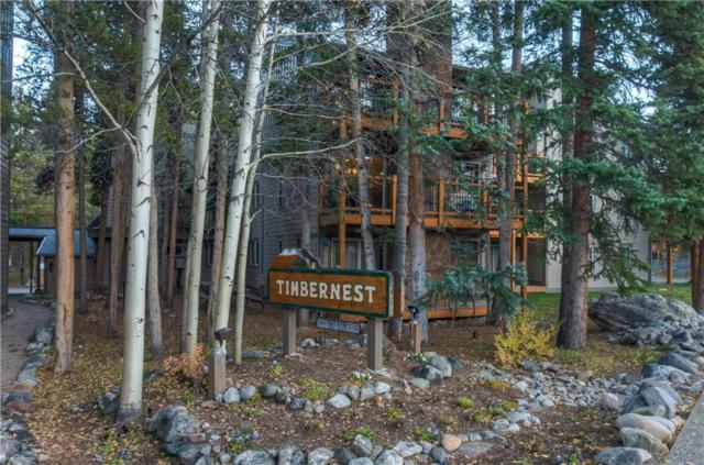 760 Columbine Road #8, Breckenridge, CO 80424 (MLS #S1006996) :: The Smits Team Real Estate