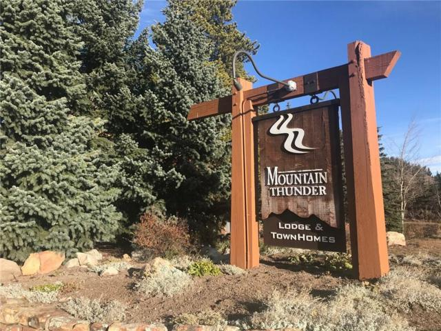 50 Mountain Thunder Drive #1211, Breckenridge, CO 80424 (MLS #S1007039) :: The Smits Team Real Estate