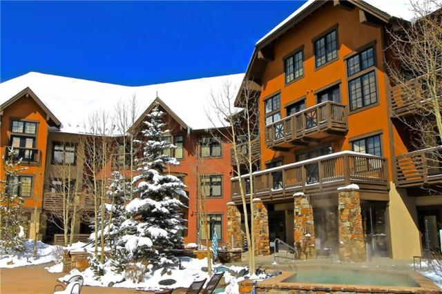 172 Beeler Place 217 C, Copper Mountain, CO 80443 (MLS #S1007091) :: Colorado Real Estate Summit County, LLC