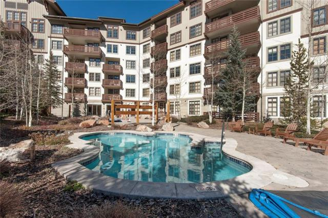910 Copper Road #511, Copper Mountain, CO 80443 (MLS #S1007230) :: The Smits Team Real Estate