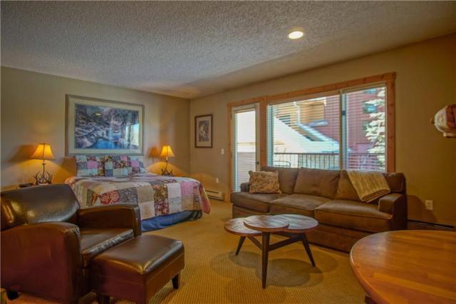 600 S Park Avenue S #108, Breckenridge, CO 80424 (MLS #S1007410) :: One Premier Properties Limited