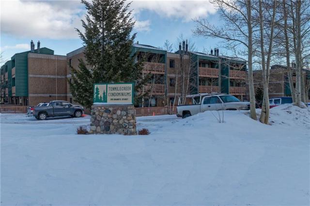 200 Granite Street #215, Frisco, CO 80443 (MLS #S1007623) :: Colorado Real Estate Summit County, LLC