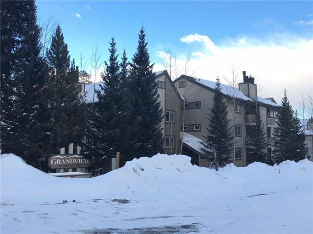 1001 Grandview Drive #24, Breckenridge, CO 80424 (MLS #S1008006) :: One Premier Properties Limited