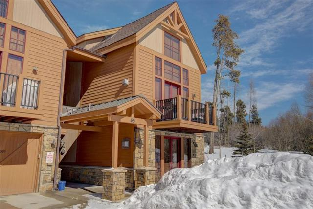 65 Antlers Gulch Road #505, Keystone, CO 80435 (MLS #S1008020) :: Resort Real Estate Experts