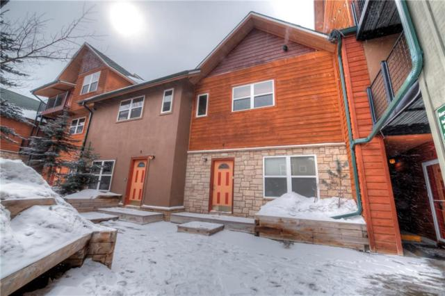 539 Granite Street #5, Frisco, CO 80443 (MLS #S1008139) :: Colorado Real Estate Summit County, LLC