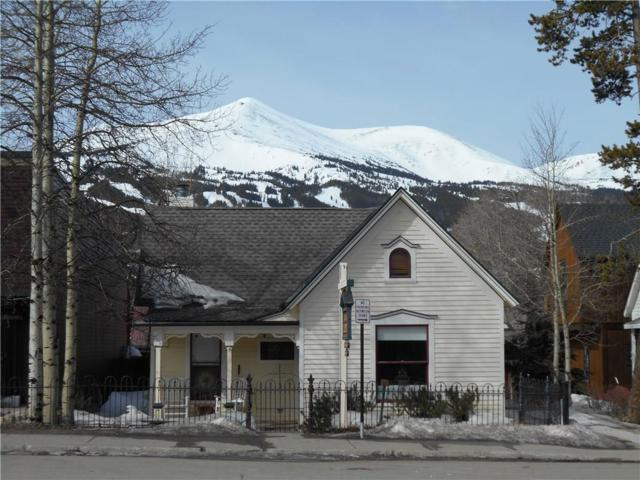 213 S Ridge Street, Breckenridge, CO 80424 (MLS #S1008190) :: Colorado Real Estate Summit County, LLC