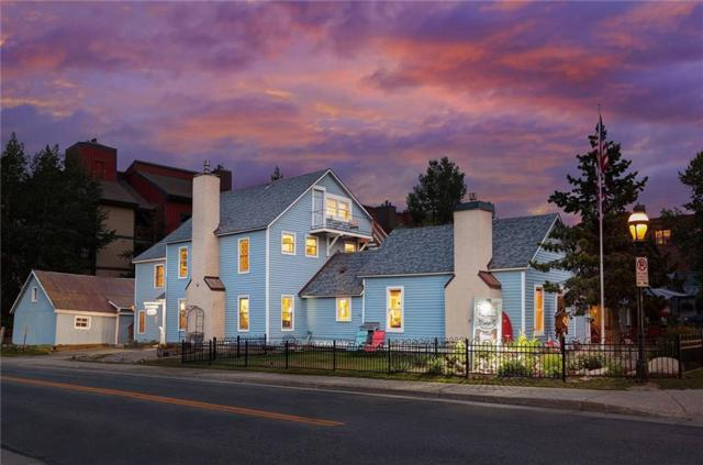 114 N French Street N, Breckenridge, CO 80424 (MLS #S1008451) :: Colorado Real Estate Summit County, LLC